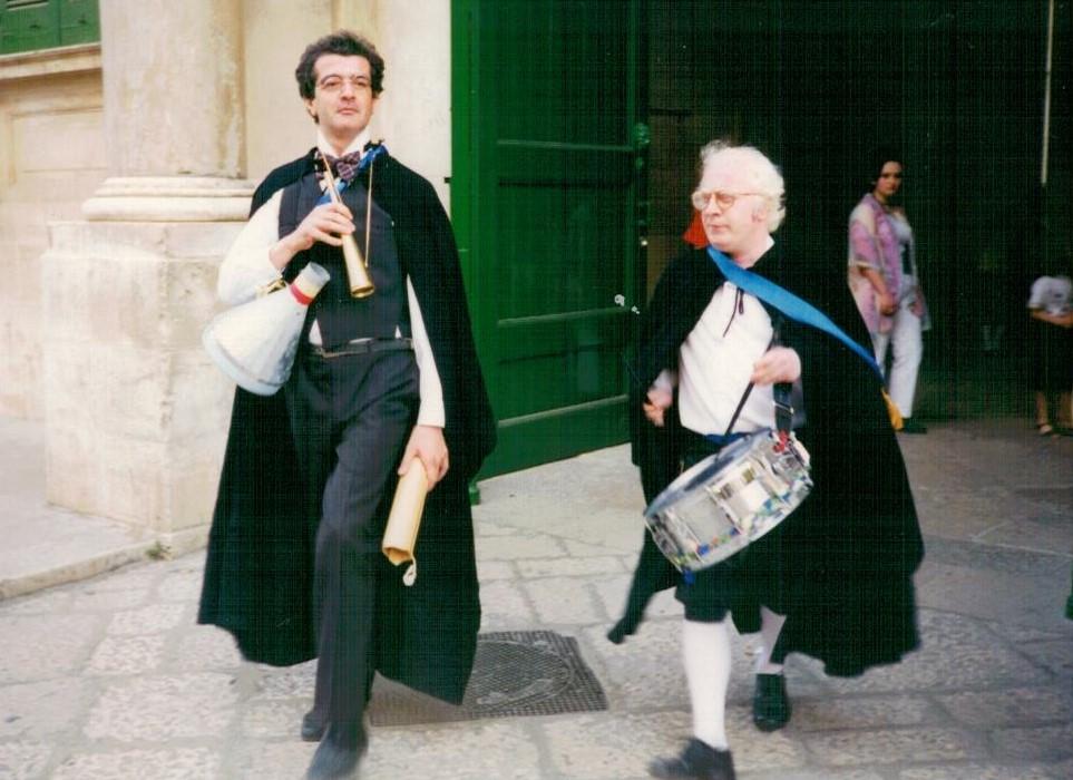 I banditori. Bitonto (BA). 1994