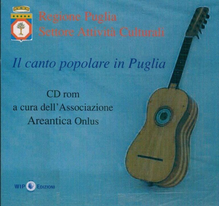 LA MUSICA POPOLARE IN PUGLIA CD ROM