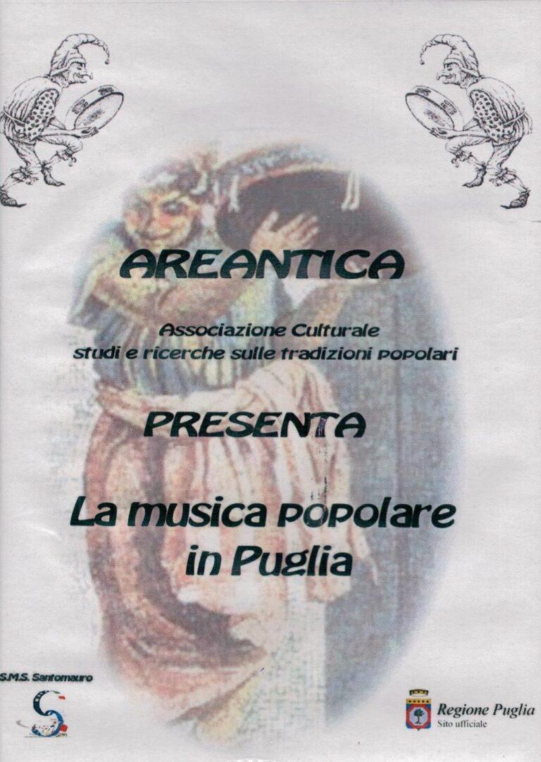 LA MUSICA POPOLARE IN PUGLIA DVD SANTOMAURO BARI