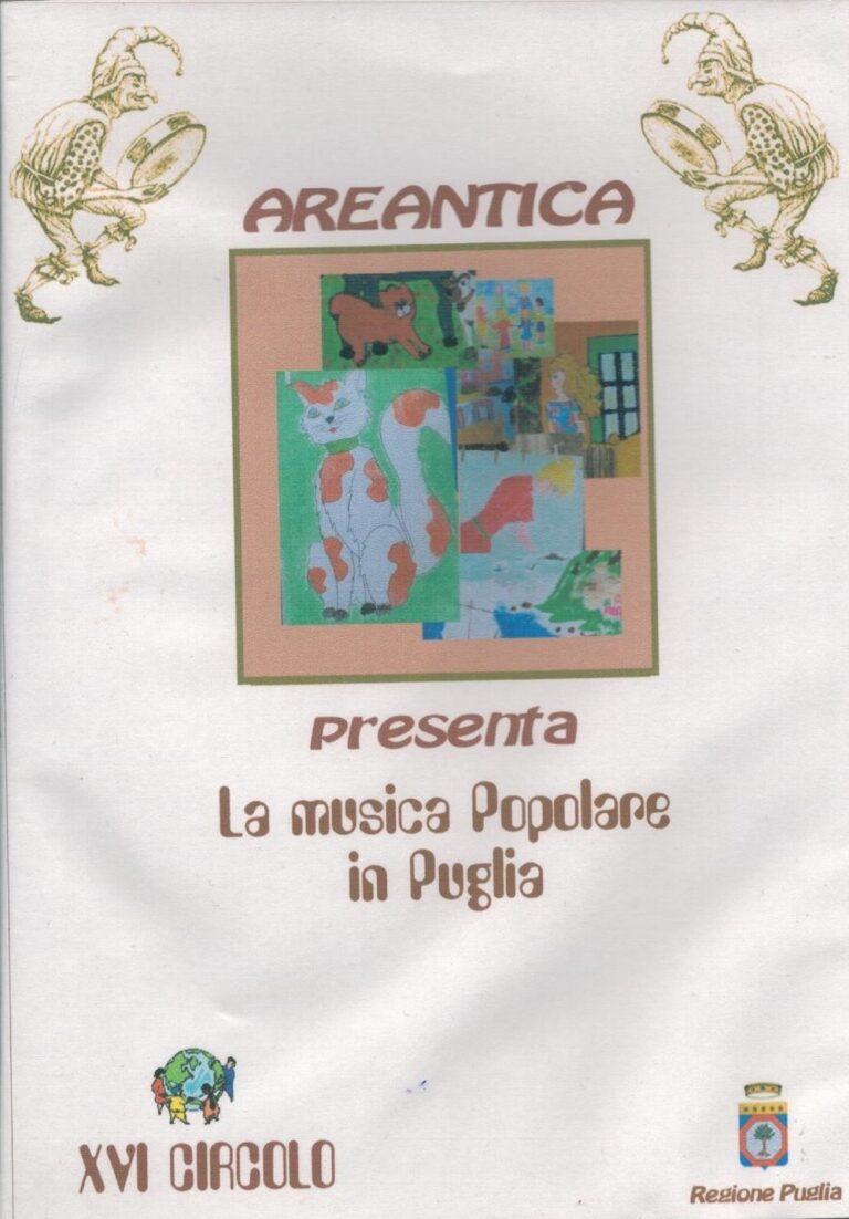 LA MUSICA POPOLARE IN PUGLIA DVD XVI CIRCOLO BARI
