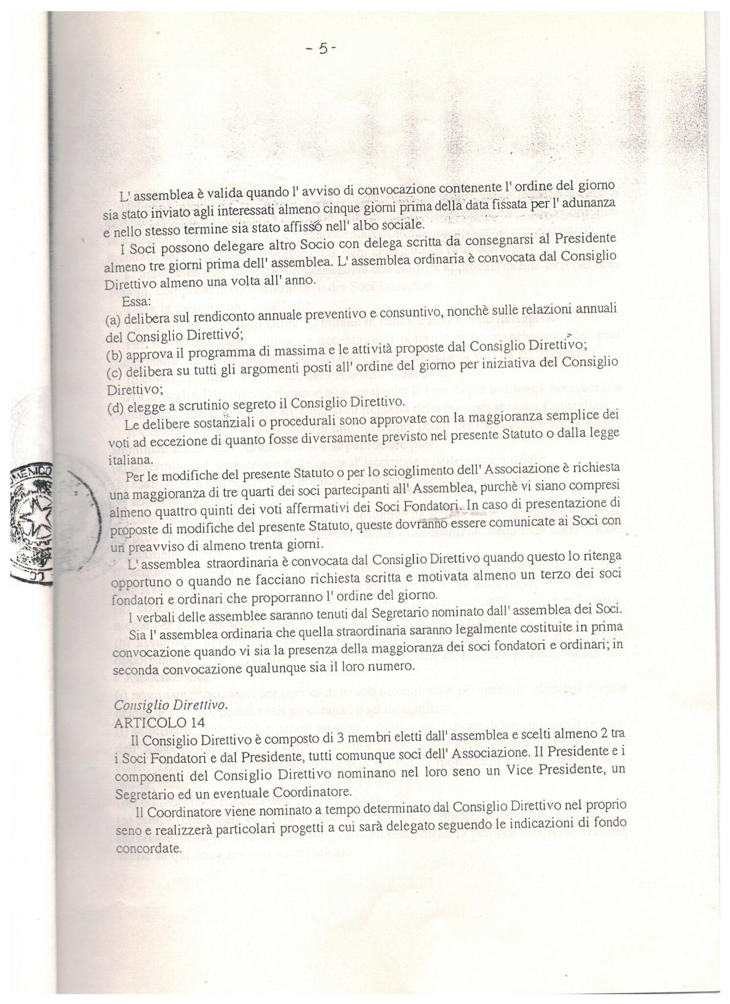 STATUTO 11