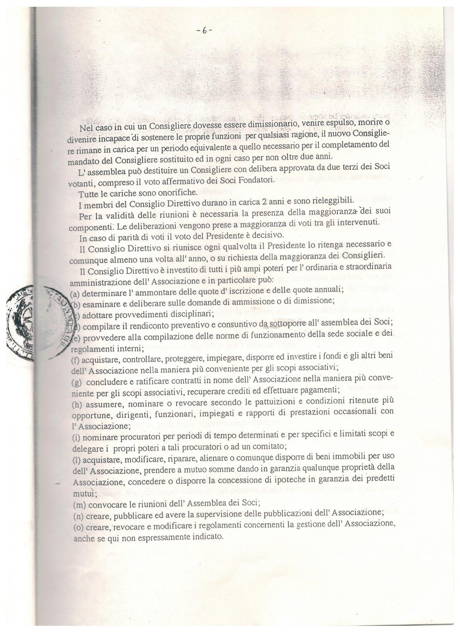 STATUTO 13