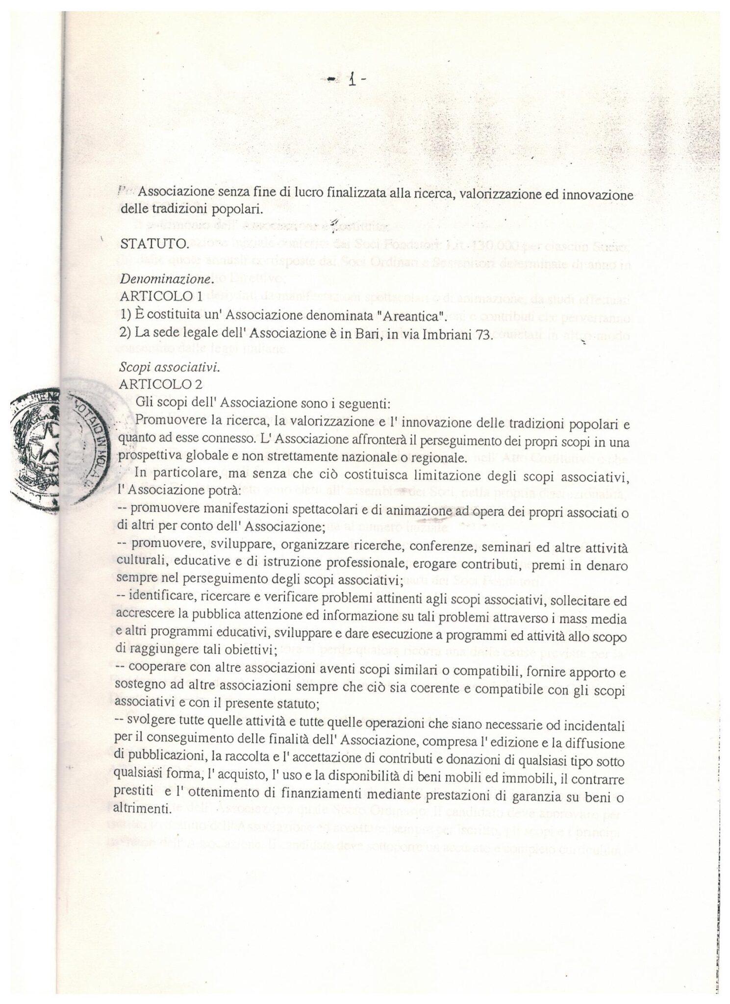 STATUTO 3