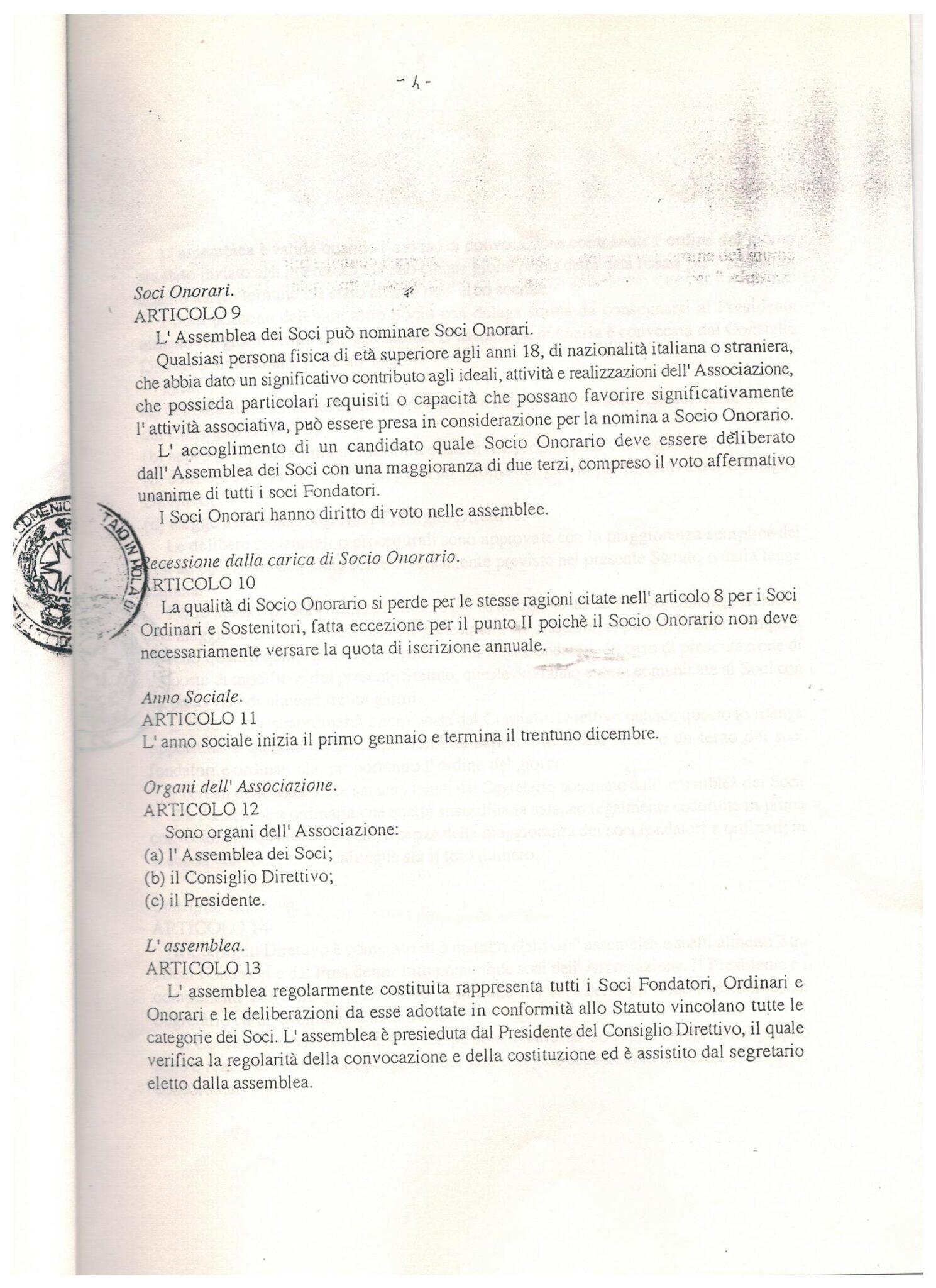 STATUTO 9