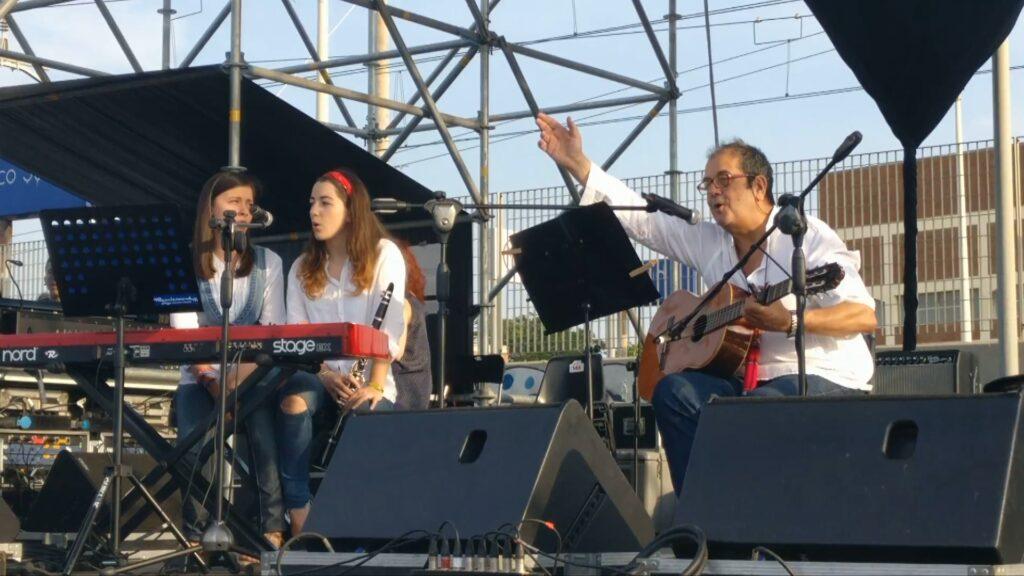 """Bari. Festival dei Popoli. 2017. Alunni I.T.C. """"G. Cesare"""""""