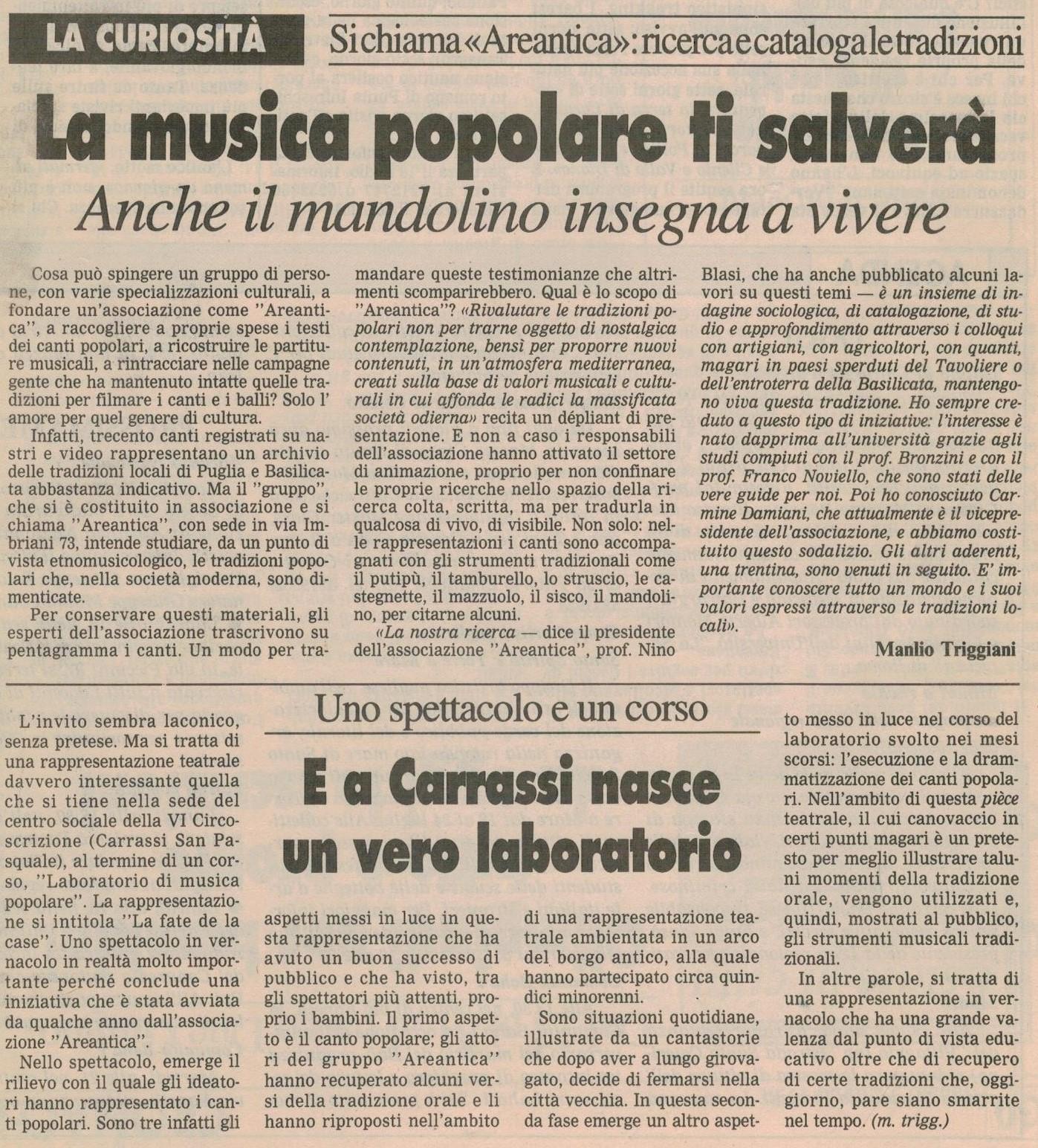 La Gazzetta del Mezzogiorno 09-07-1994